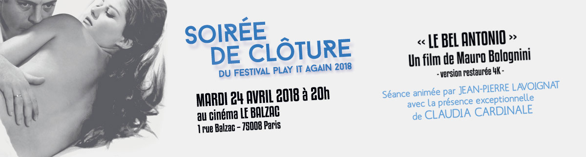 Clôture du festival Play it again 2018