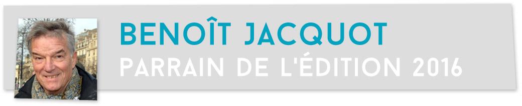 Benoît Jacquot, parrain de l'édition 2016 du Festival Play it again